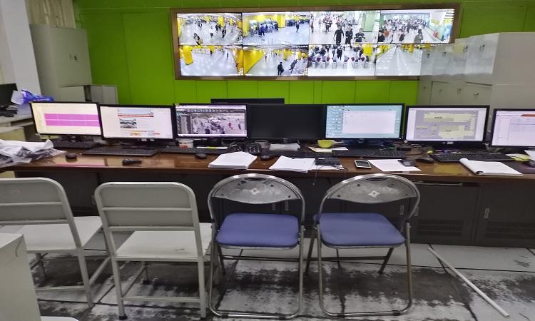 监控室机房